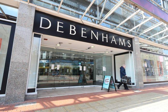 英国百货连锁公司Debenhams受疫情影响濒临破产