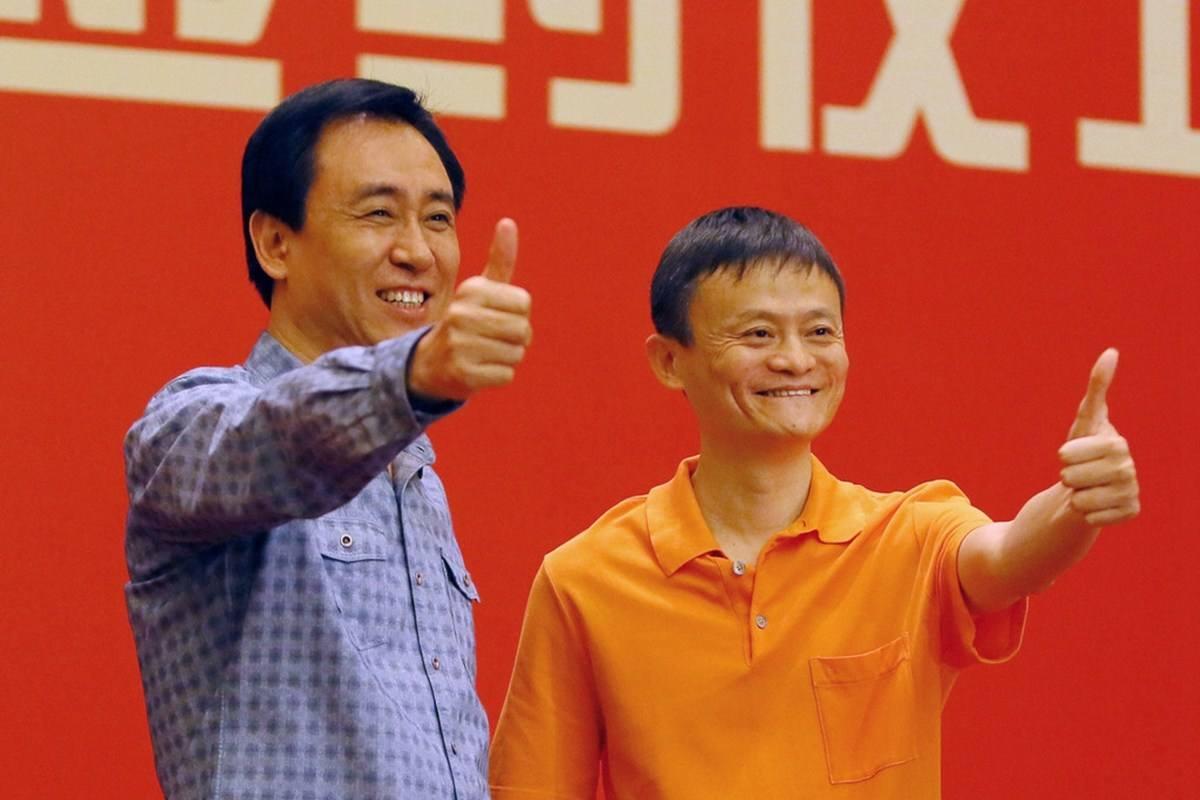 胡润中国十强企业家:马云马化腾并列第一,许家印第四