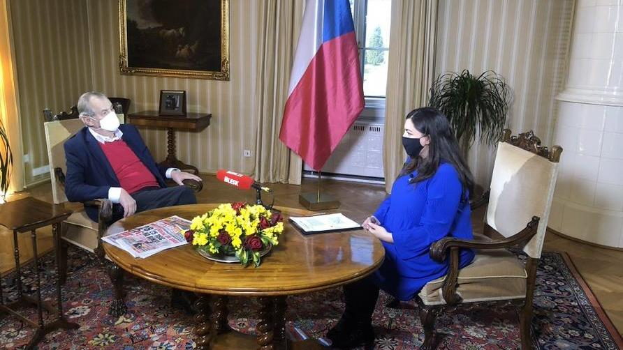捷克总统泽曼驳斥有关对于中国防疫物资质量的指责图片