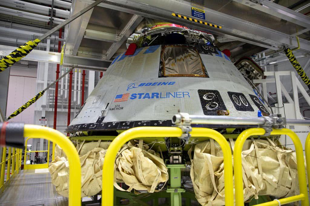 """波音:载人飞船将进行第二次""""非载人""""试飞 对接空间站"""