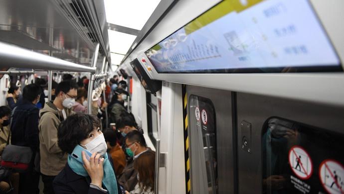 北京10条地铁线路超常超强运行,避免抗疫期间拥挤图片