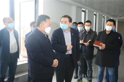 合肥市委书记宋国权考察中国科大高新园区