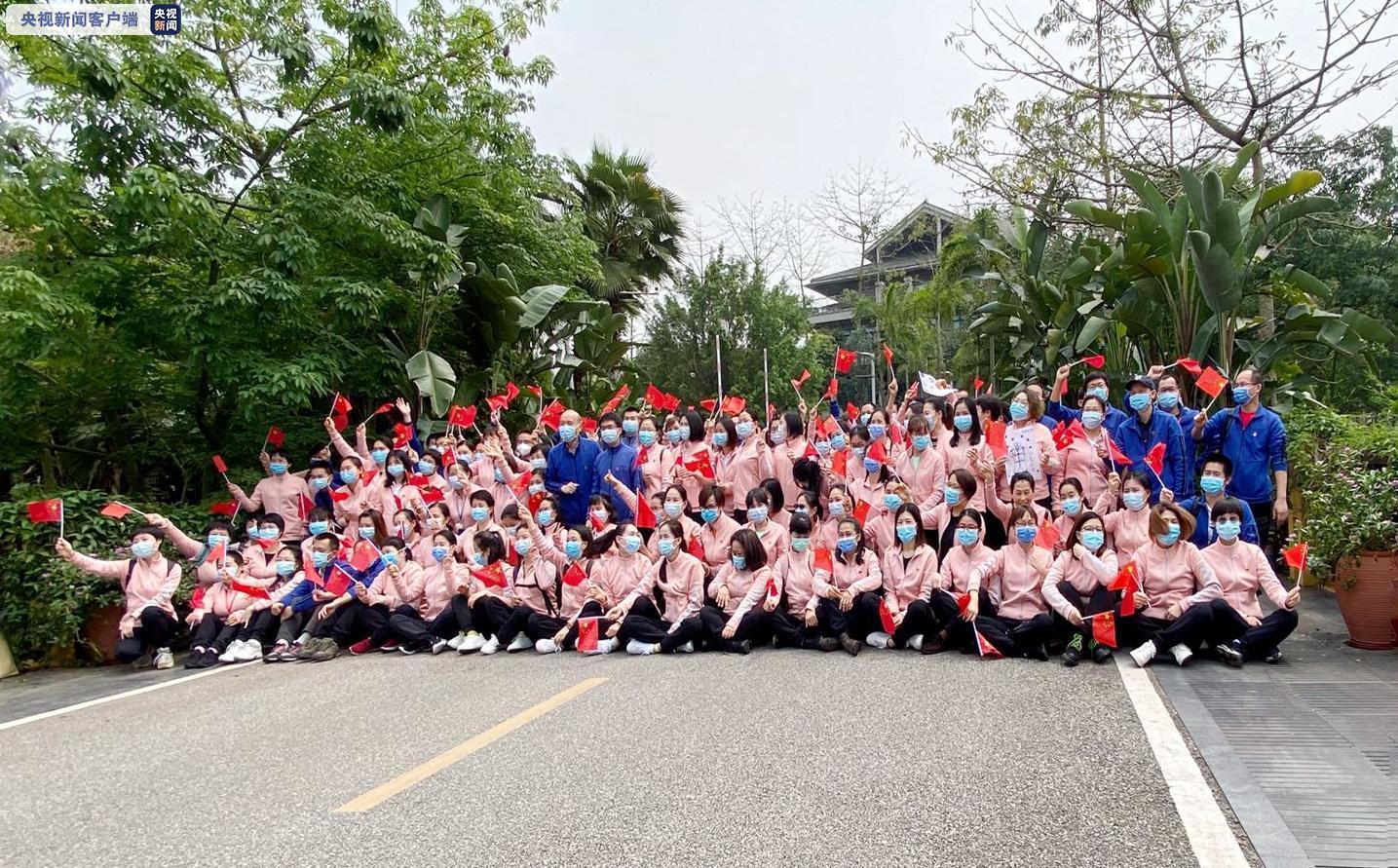 广西第六批援鄂抗疫医疗队结束休整 返回岗位图片