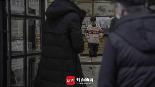 武汉一热干面店复工首日
