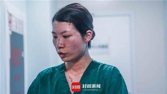 手术竣事后的护士长旷婉