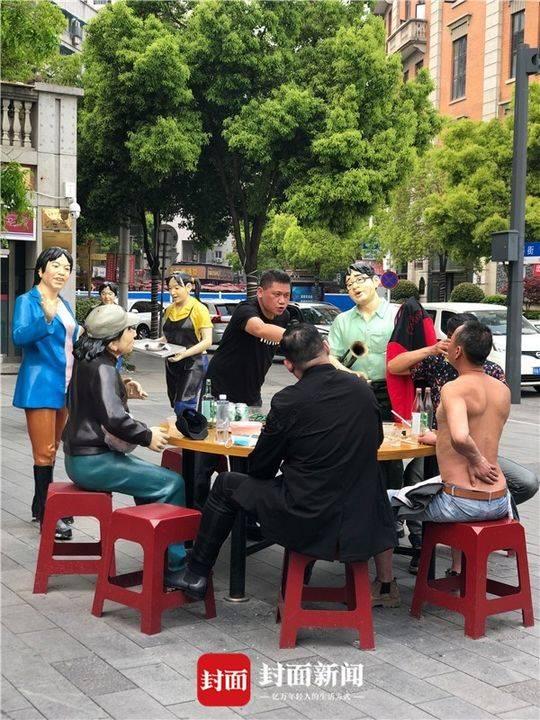 开城前一天的吉庆街