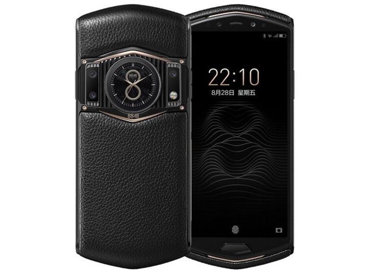 8848钛金手机M6今日开卖:高通骁龙865+钛合金镀金机身,12999元起