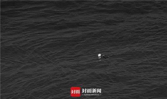 默哀完毕 被抛进长江的一支白玫瑰