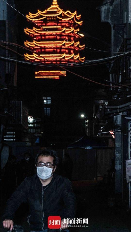 黄鹤楼下的网红街