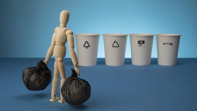【摩天登录】分类垃圾桶居民用摩天登录法却令人迷图片