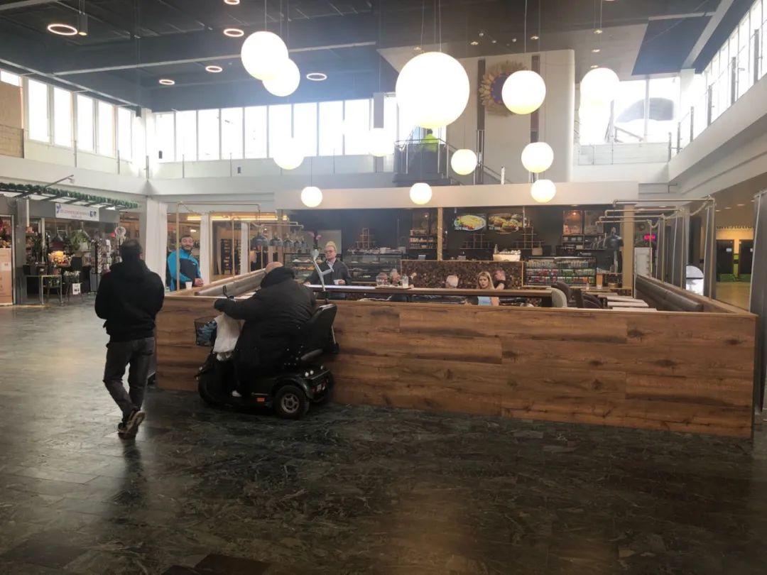 斯德哥尔摩一间咖啡馆。