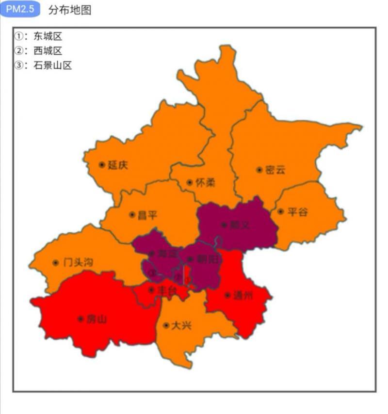 「摩天注册」空气重污染城区摩天注册PM图片