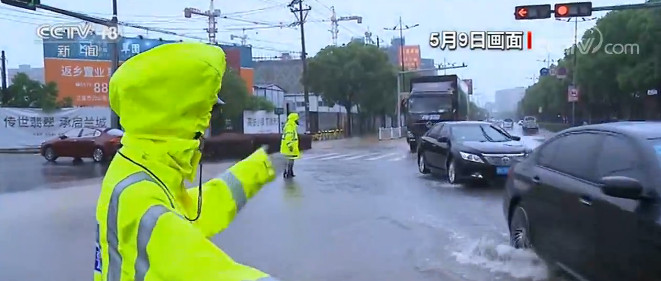 强对流天气突袭 浙江紧急启动防汛应急响应图片