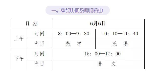 【天富】南高中学业水平合格性天富考试将于6月6图片