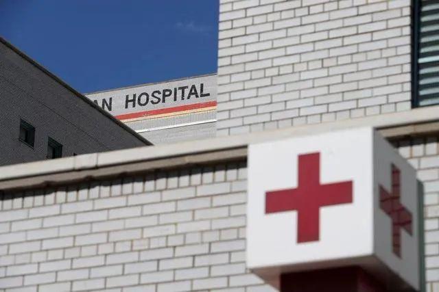 ▲资料图片:美国纽约一家医院的外景(新华社记者 王迎 摄)