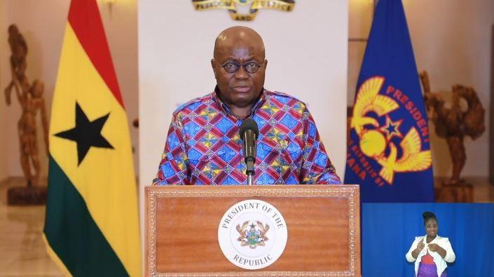 △加纳总统阿库福-阿多发表第九次全国电视讲话