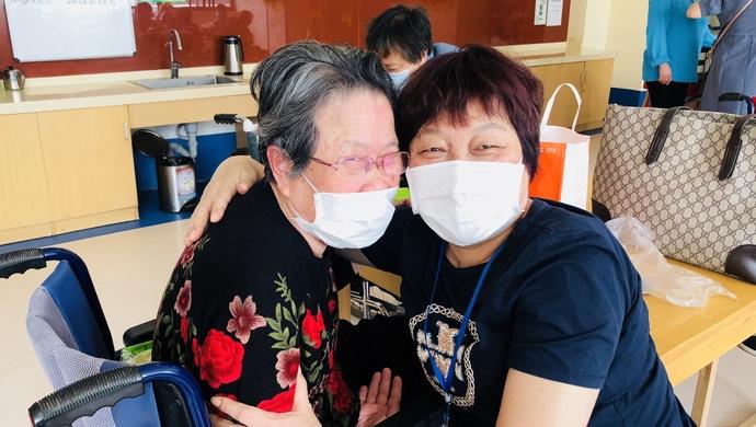 赢咖3官网,她终于见到103岁赢咖3官网老母图片