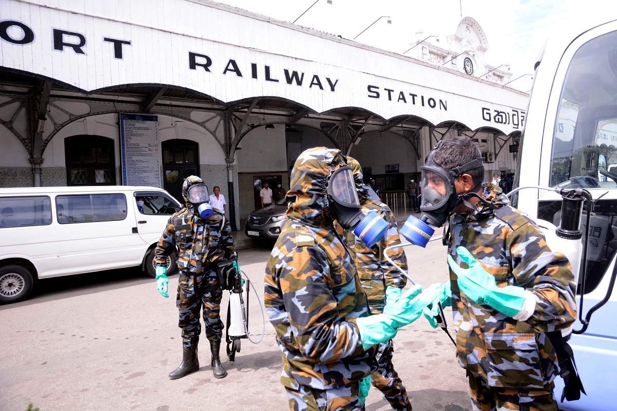 斯里兰卡新冠肺炎确诊病例升至869例 近半数为海军人员