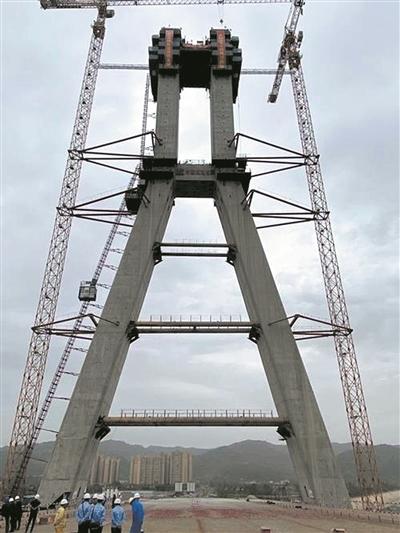 【摩天测速】375米成都最大摩天测速斜拉桥主图片