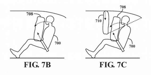 苹果新专利曝光:Apple Car气囊系统颠覆性设计