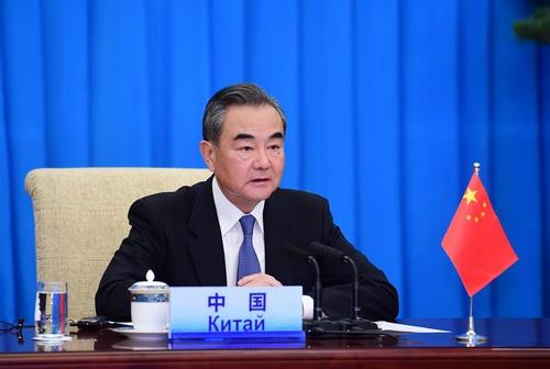 彩票代理:王毅出席上海合彩票代理作组织成员国图片