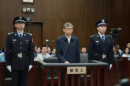 ·孙波案一审宣判现场。图自上海市第一中级人民法院微信民众号