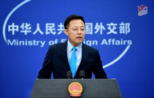 """外媒求证""""中国政府准备惩戒对华滥诉的实体和个人"""",赵立坚回应图片"""