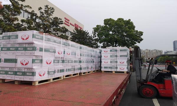 杏悦注册印度疫情杏悦注册重灾区捐赠60万只口罩图片