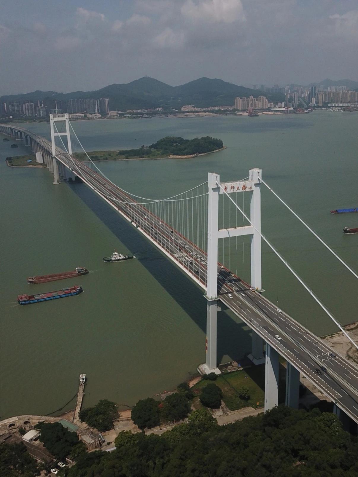 高德注册验虎门大桥恢复交通专家高德注册图片