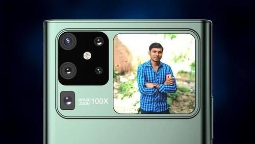 外媒曝光华为Mate40渲染图,五摄+副屏设计?