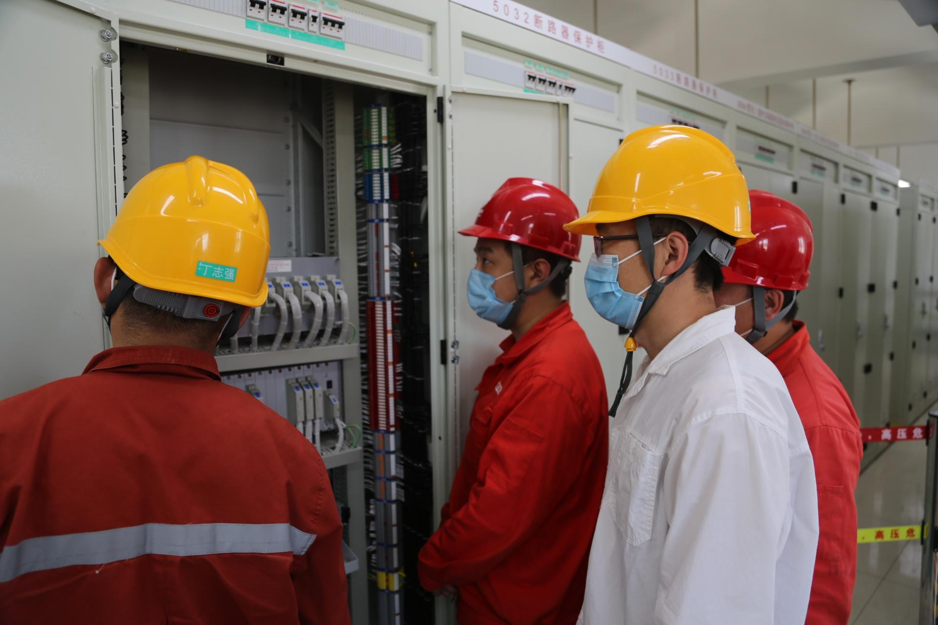 2020年山西首个特高压站500千伏送出工程送电