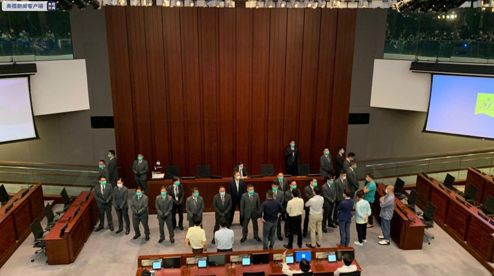 李慧琼当选香港立法会内务委员会主席图片