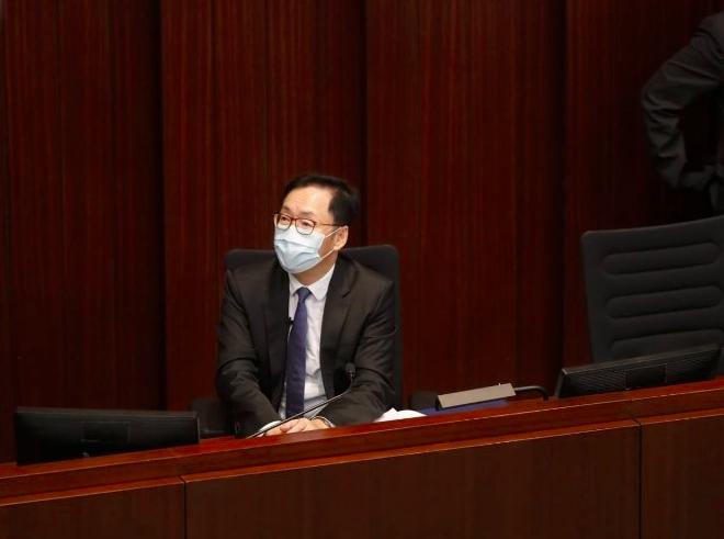 图为香港立法集会员陈健波