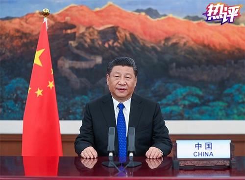中国坚定真诚地走在合作抗疫的人间正道上图片