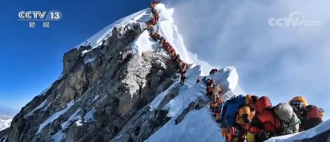 珠峰高程测量 珠峰的温度到底有多低?图片