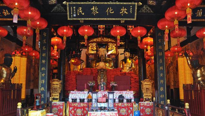 [蓝冠官网]三个月后上海城隍庙举行庚蓝冠官网子年图片
