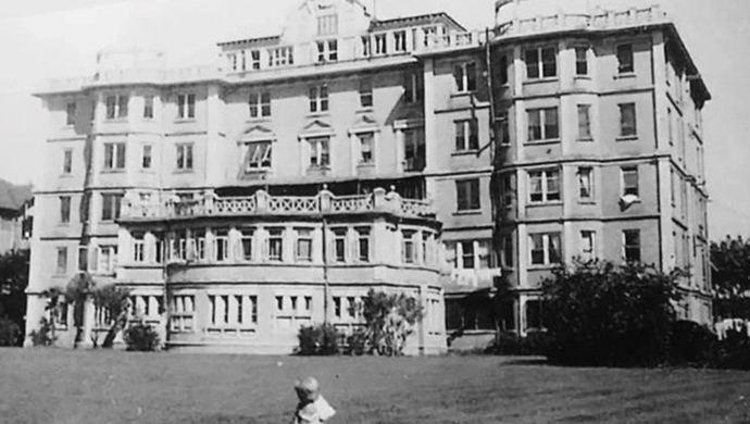 """与上海武康大楼齐名的96岁""""黑石公寓"""",熊希龄等名人曾留下身影图片"""