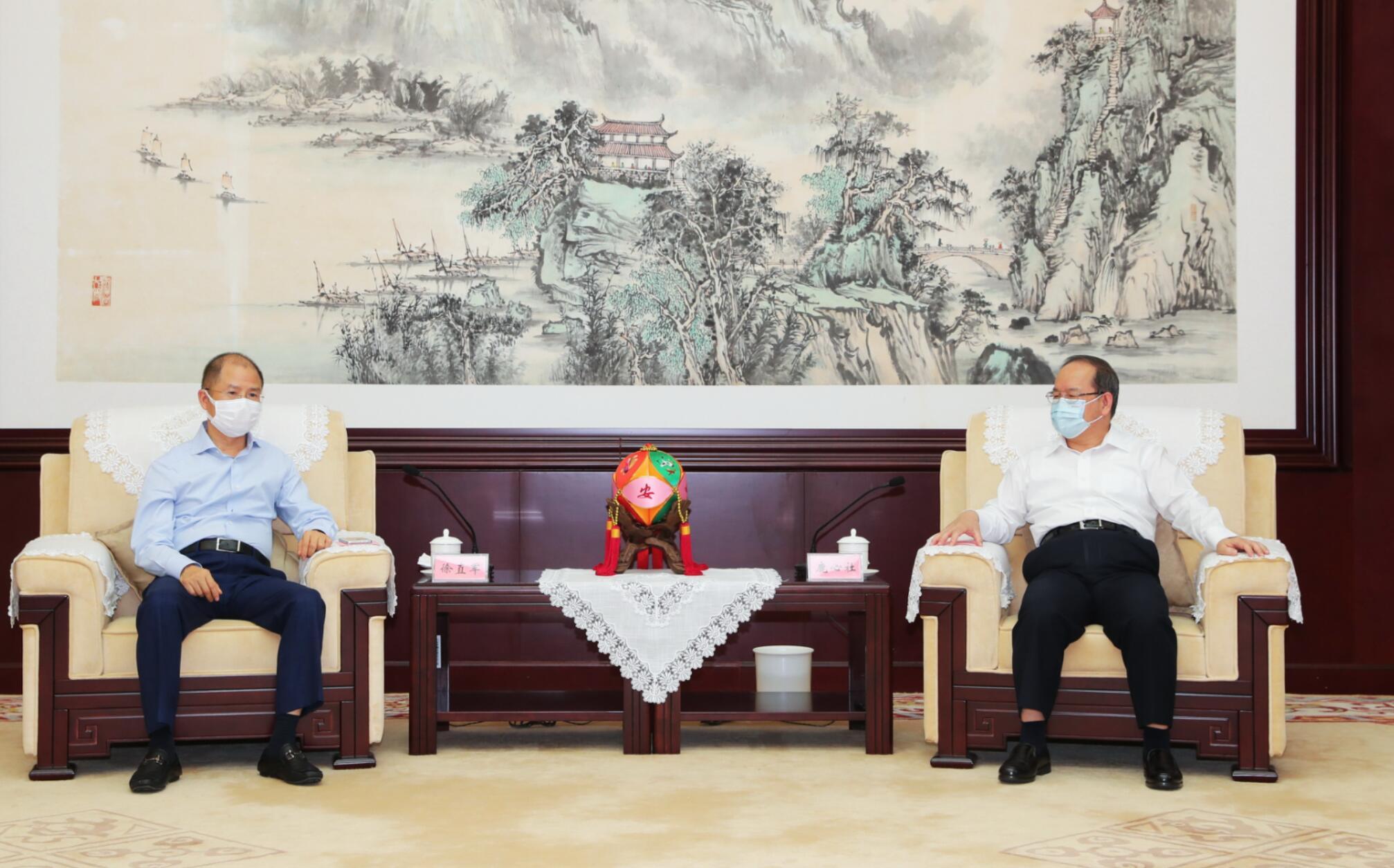 广西与华为公司签署深化战略合作协议 鹿心社陈武分别会见徐直军