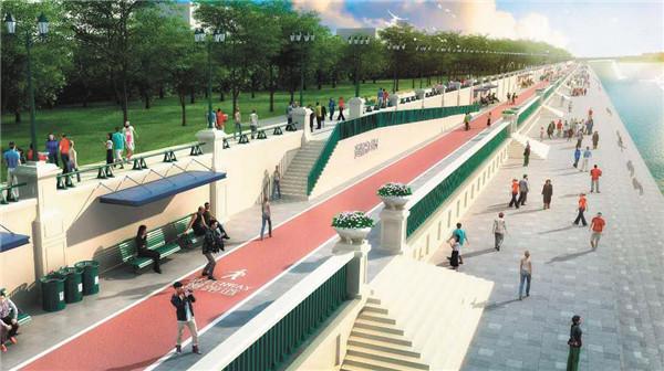 哈市江南岸9.3公里生态景观将改造升级图片