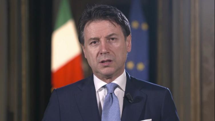 意大利总理孔特在世卫大会呼吁团结合作共同战胜疫情