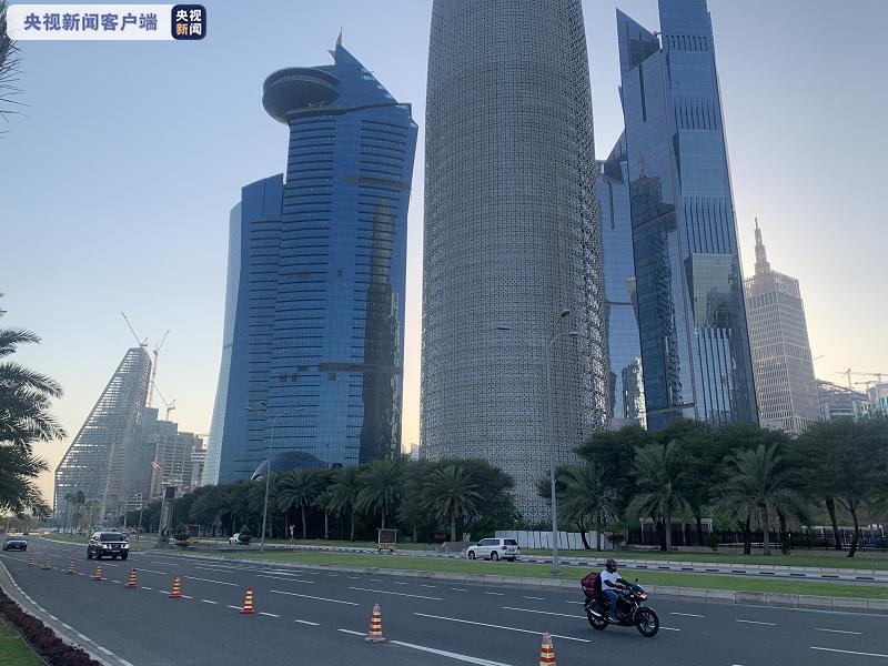 △ 卡塔尔街景 来源:记者拍摄