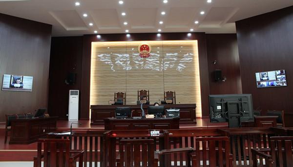 西林法院:远程公开宣判一起毒品犯罪案图片
