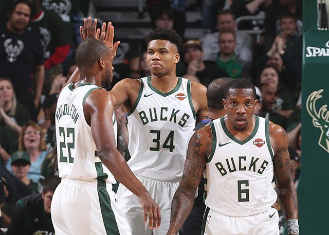 目前,雄鹿队排名NBA联盟第一。图据NBA官网