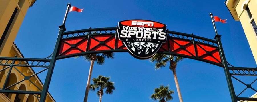 """位于奥兰多迪士尼的ESPN""""世界体育中心""""图据迪士尼官网"""