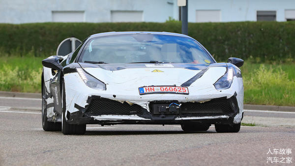 【法拉利测试V6混动系统预计将搭载Pu
