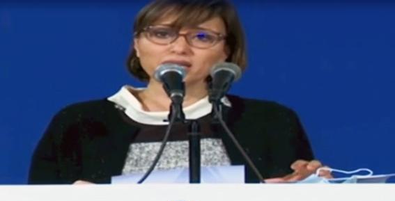△突尼斯国家大型项目部部长兼国家卫生防疫战略政府发言人卢比娜.杰丽比