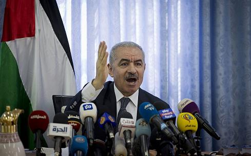 △巴勒斯坦权力机构总理穆罕默德·斯泰耶 (图片来源于网络)