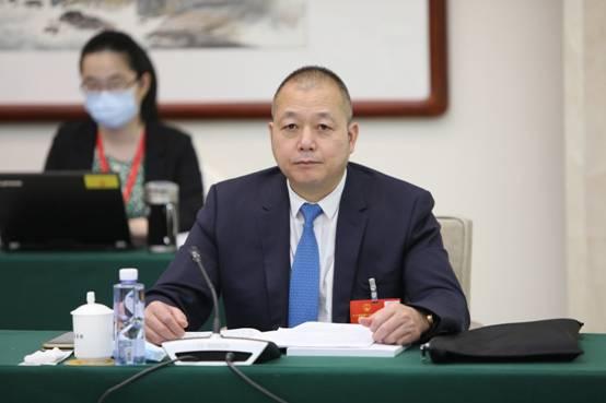 全国人大代表蔡培辉(图源:全国台联)