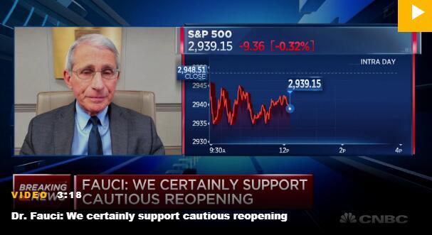 改口了?福奇:我们不能相当长一段时间处于封锁状态