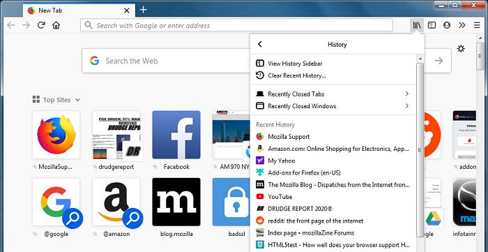 Mozilla呼吁美国国会保护用户线上浏览记录隐私